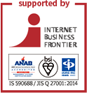 supported by INTERNET BUSINESS FRONTIER
